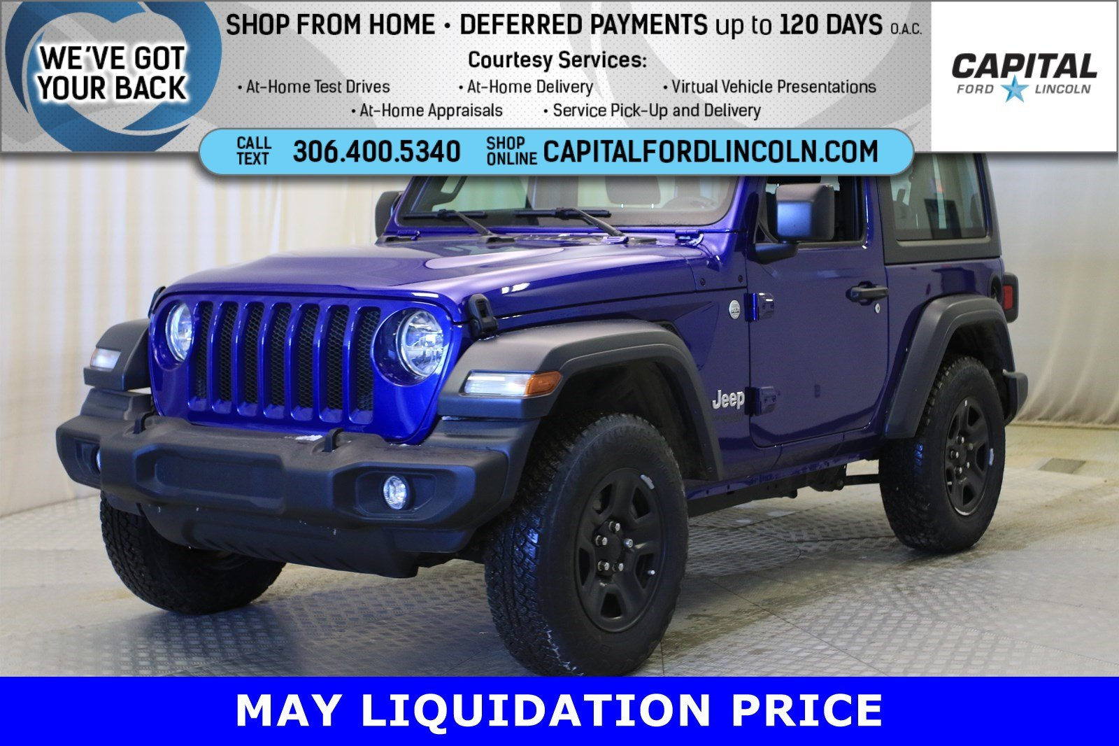 Pre-Owned 2018 Jeep Wrangler Convertible