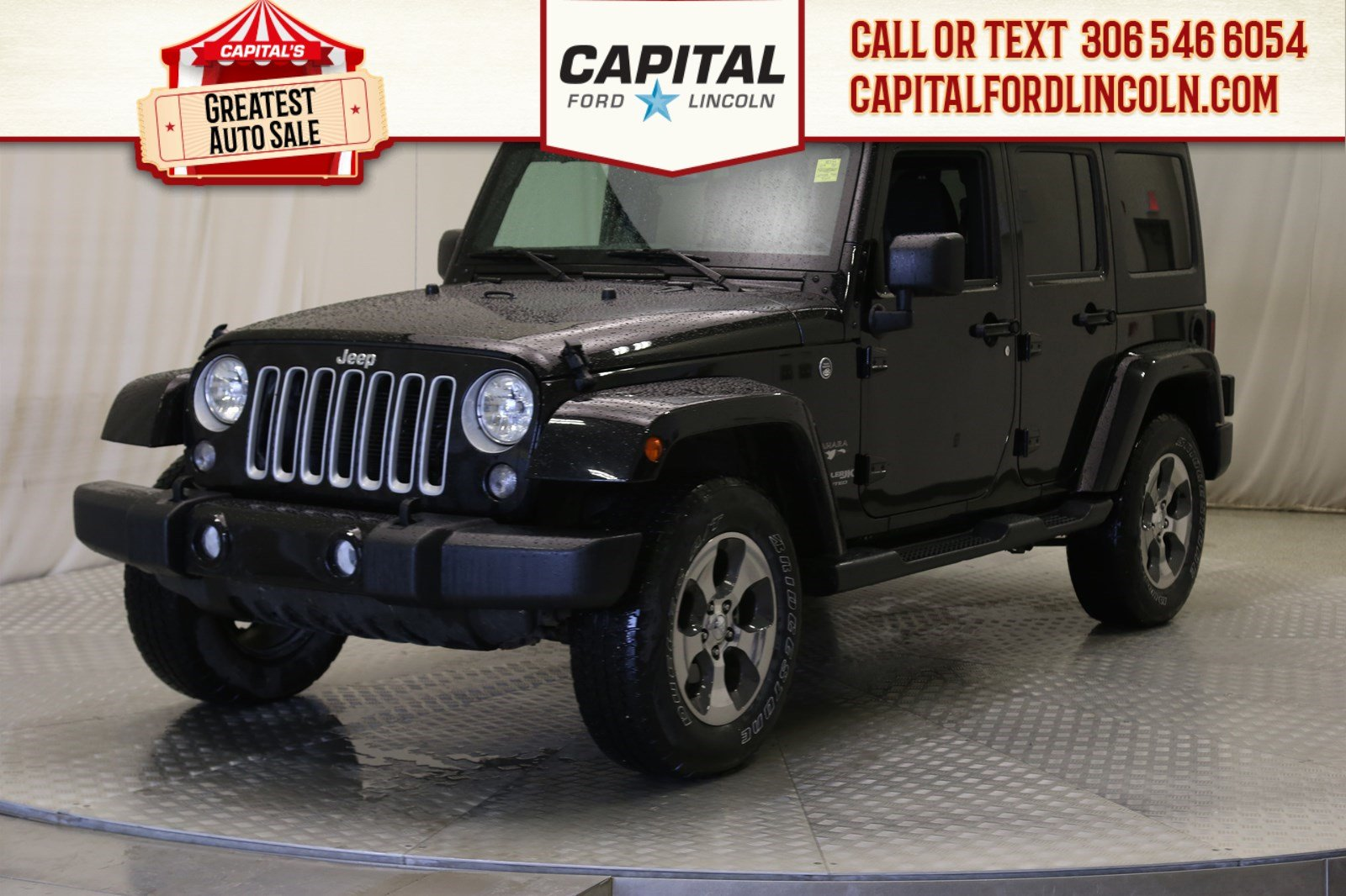 Pre-Owned 2018 Jeep Wrangler JK Unlimited Sahara Convertible