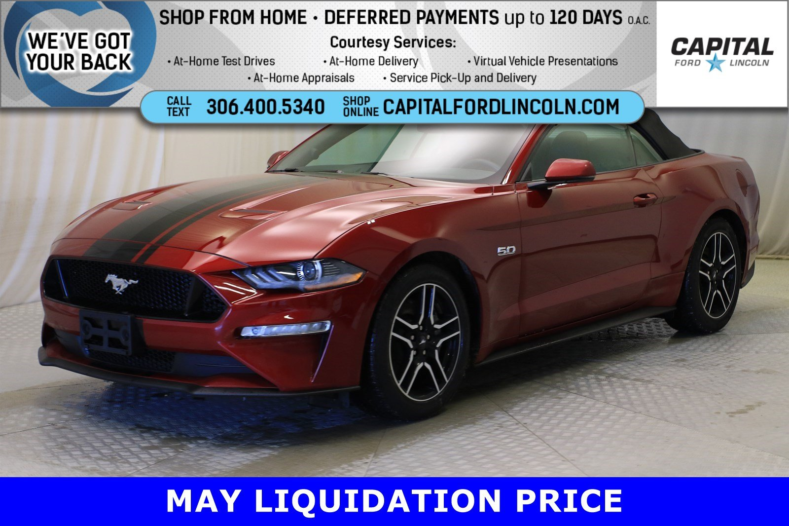 Pre-Owned 2019 Ford Mustang GT Premium Convertible | Manual Transmission |