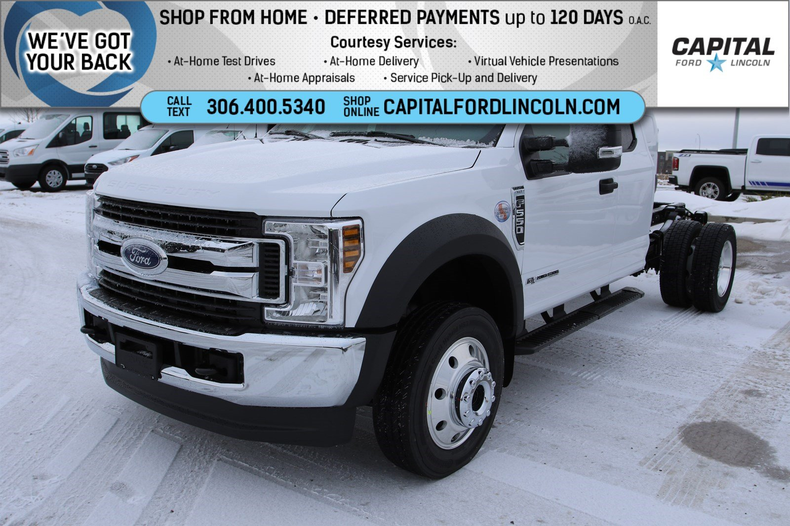 Pre-Owned 2019 Ford Super Duty F-550 DRW XLT