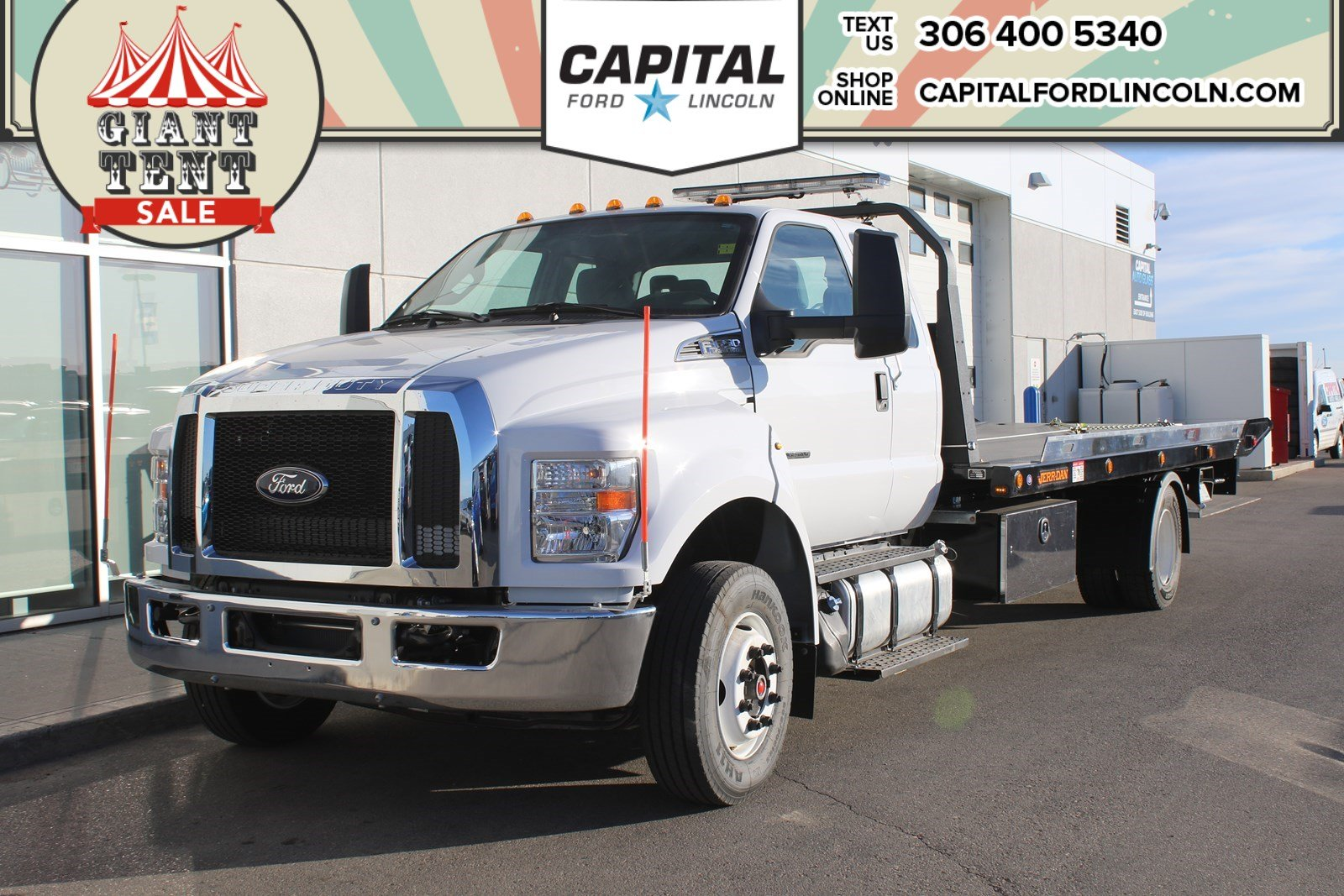 Pre-Owned 2018 Ford F-650 Supercab Cab and Chassis