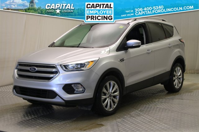 Ford Escape Sunroof >> Pre Owned 2017 Ford Escape Titanium 4wd Leather Sunroof Navigation 4wd Stock 89028a