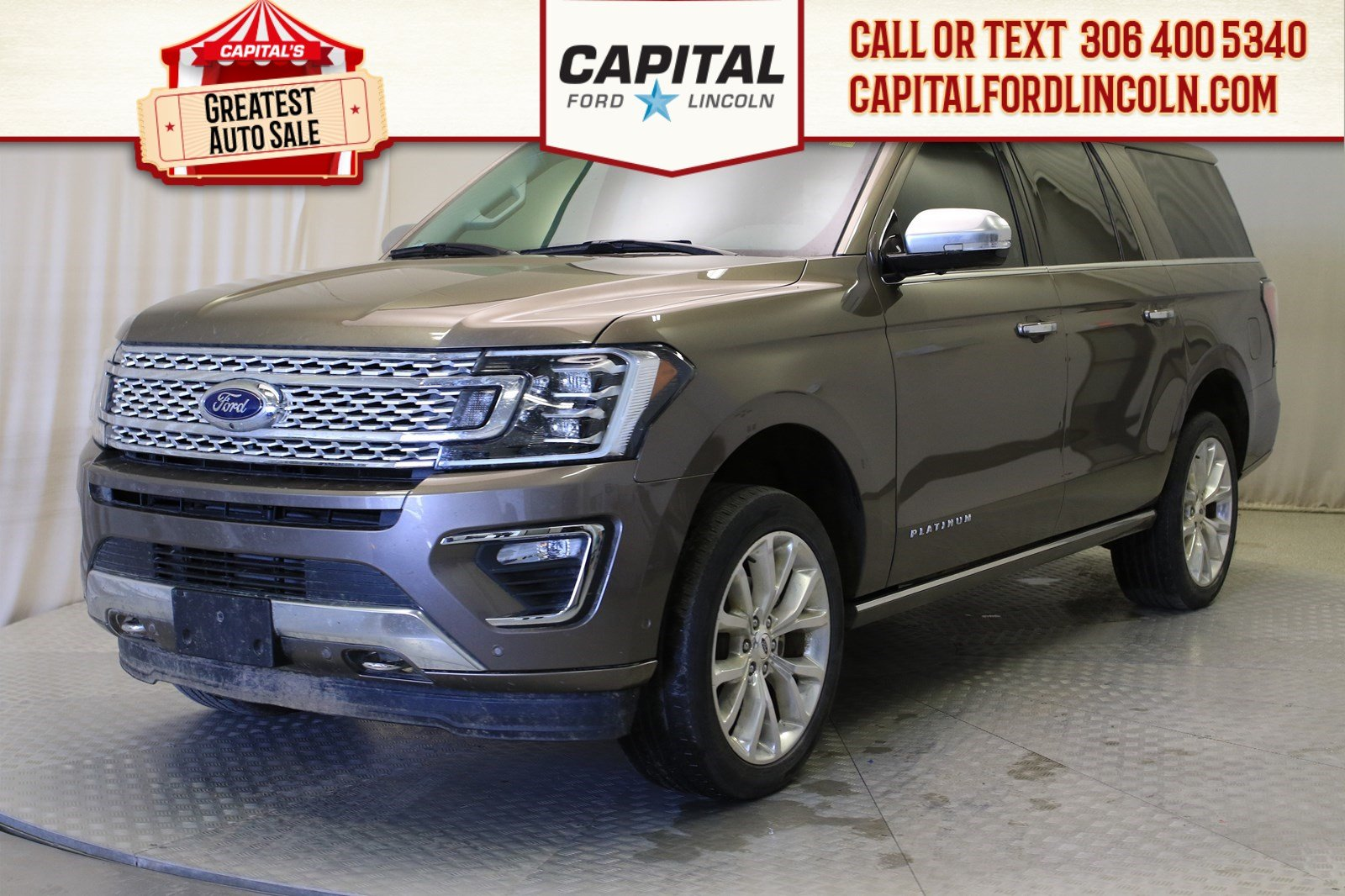 Pre-Owned 2018 Ford Expedition Platinum Max
