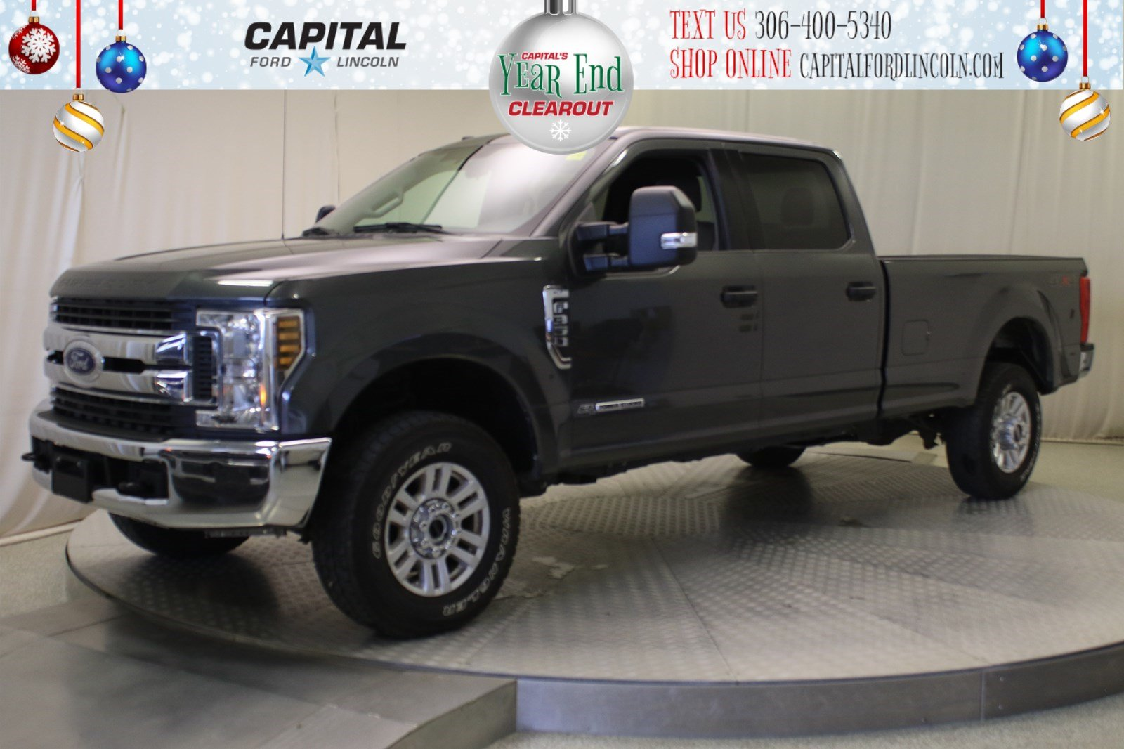 Pre-Owned 2019 Ford Super Duty F-350 SRW XLT