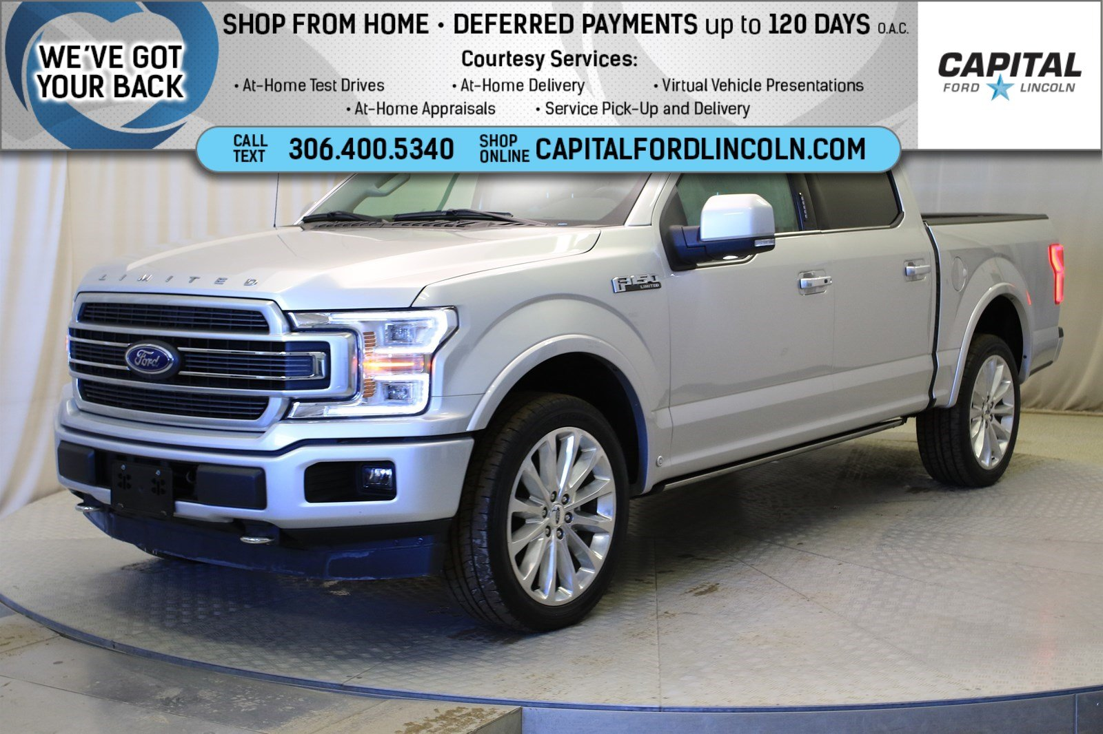 Pre-Owned 2019 Ford F-150 Limited SuperCrew