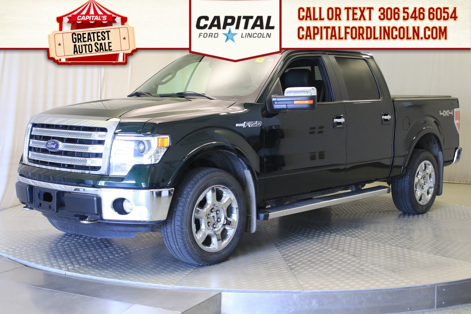 Pre-Owned 2014 Ford F-150 Lariat | Sunroof | Gorgeous Truck |