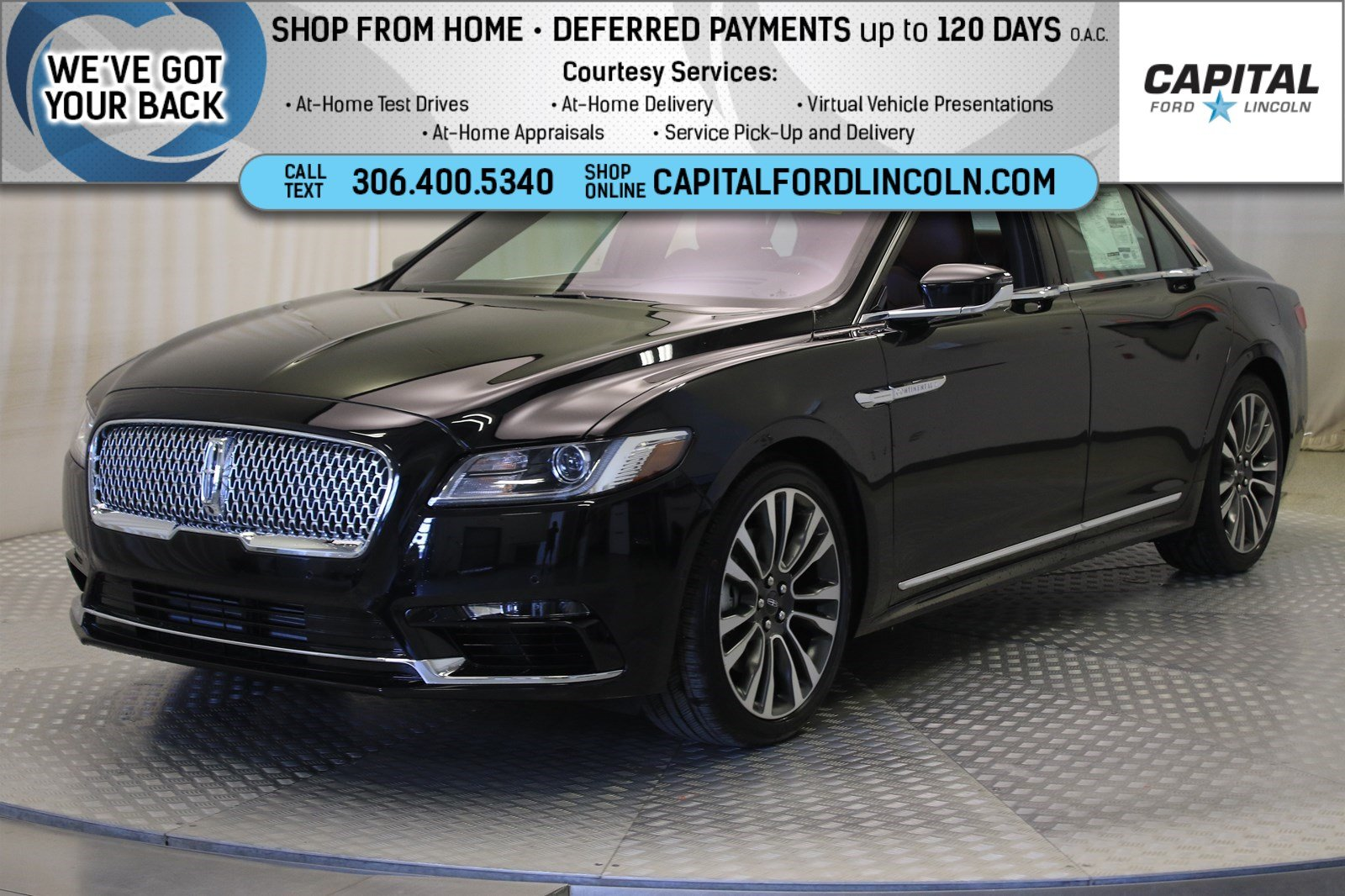 Pre-Owned 2019 Lincoln Continental Reserve AWD