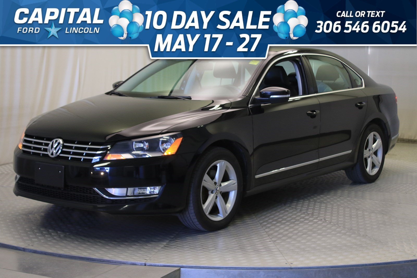 Pre-Owned 2015 Volkswagen Passat Comfortline | Diesel | Sunroof | Leather |