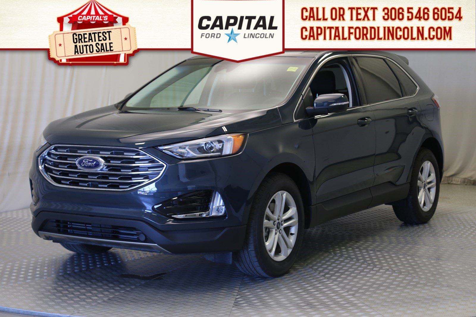 Pre-Owned 2019 Ford Edge SEL | Leather | Sunroof | 0% Financing |