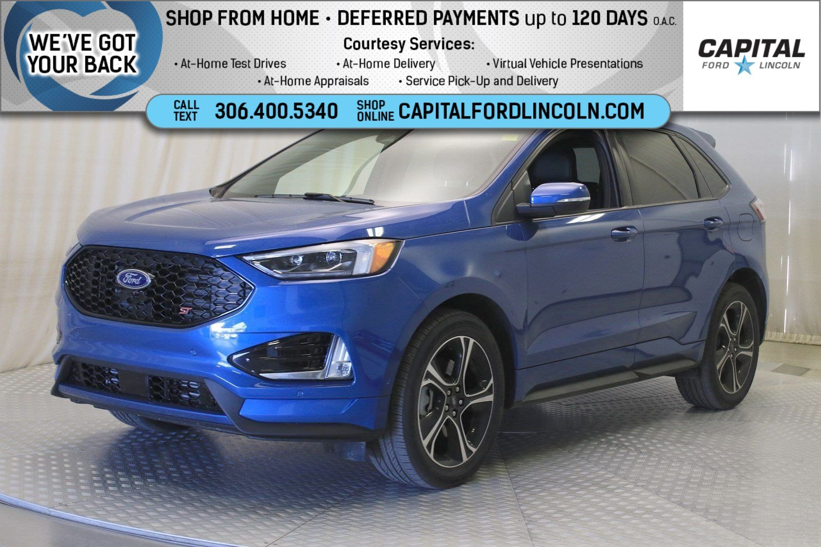 Pre-Owned 2019 Ford Edge ST AWD | Twin Turbo V6 |