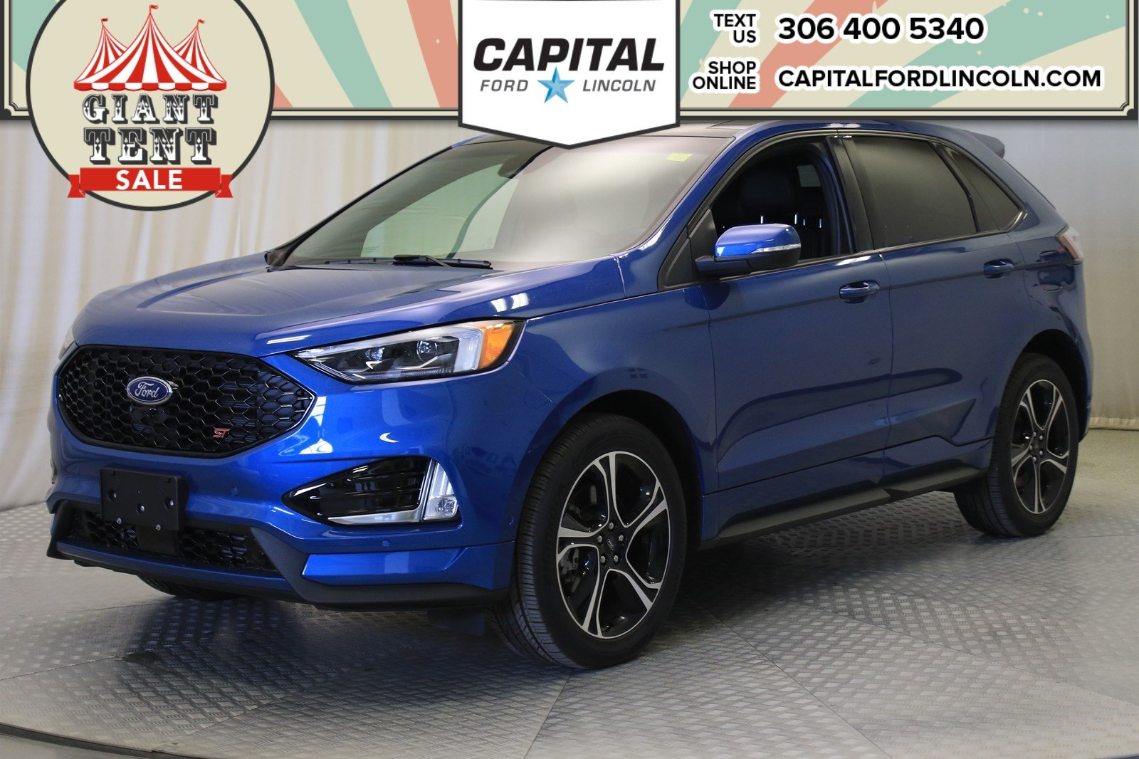 Pre-Owned 2019 Ford Edge ST AWD | Twin Turbo |