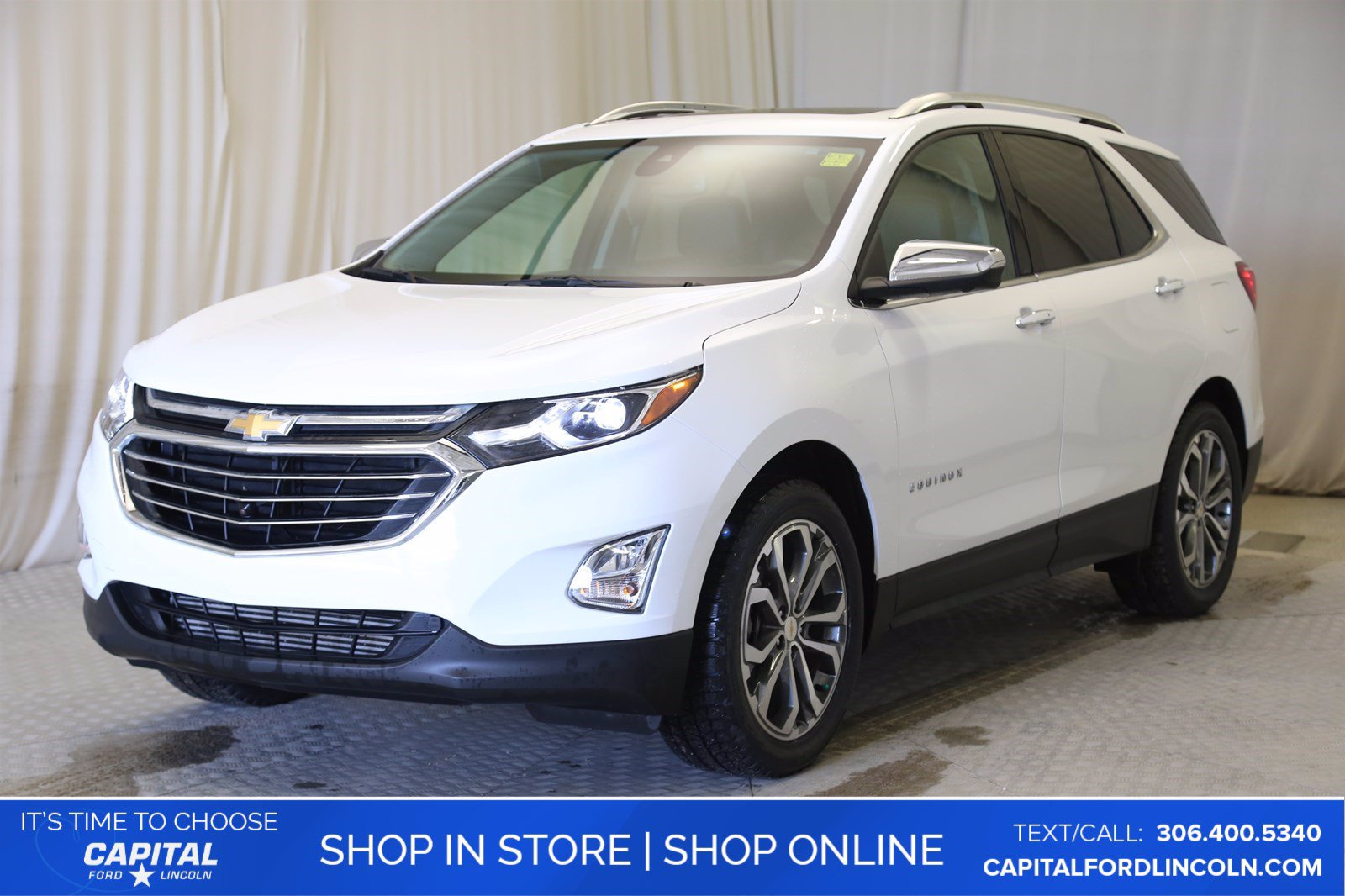 Pre-Owned 2019 Chevrolet Equinox Premier AWD
