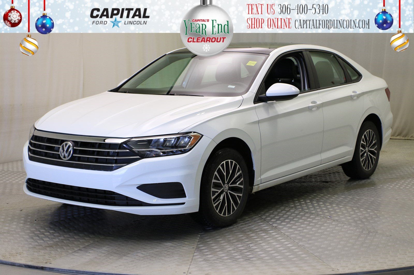 Pre-Owned 2019 Volkswagen Jetta Highline | Leather | Sunroof |