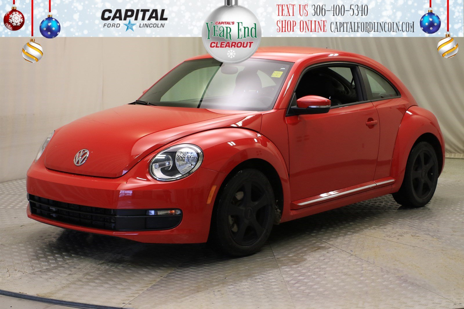 Pre-Owned 2016 Volkswagen Beetle Coupe HB