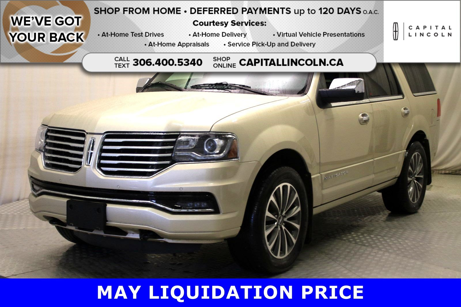 Pre-Owned 2017 Lincoln Navigator Select 4WD