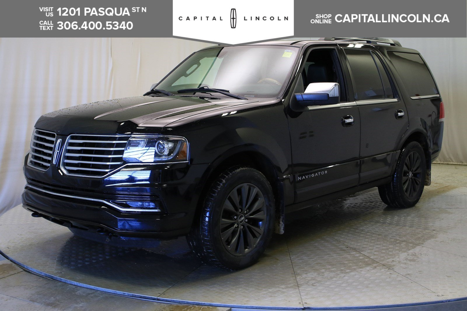 Pre-Owned 2016 Lincoln Navigator Select 4WD