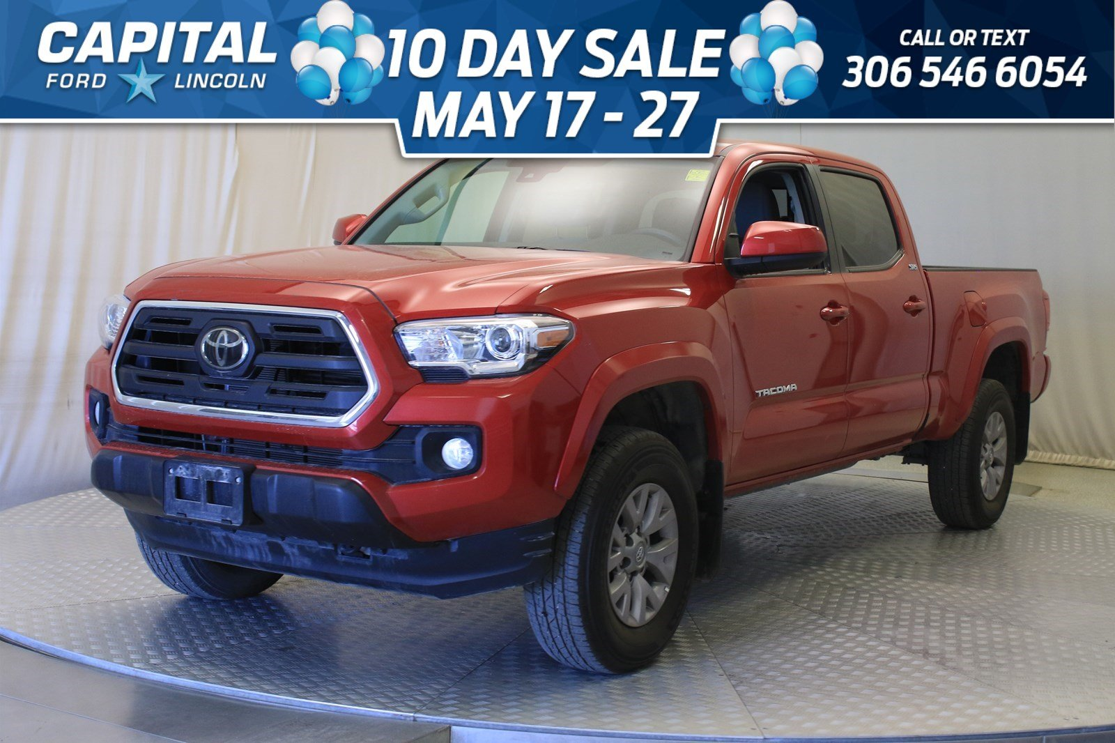 Pre-Owned 2018 Toyota Tacoma SR5 **New Arrival**