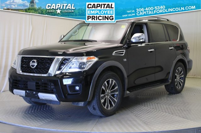 Pre-Owned 2018 Nissan Armada SL | Leather | Sunroof | Navigation |
