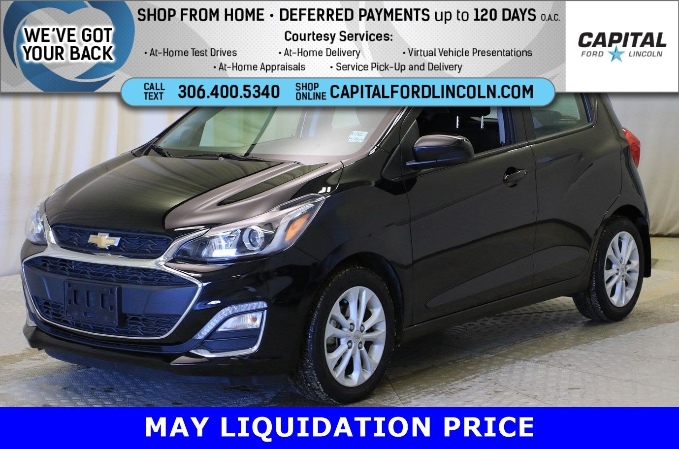 Certified Pre-Owned 2019 Chevrolet Spark LT HB