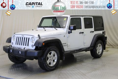 Pre-Owned 2015 Jeep Wrangler Unlimited Sport Convertible