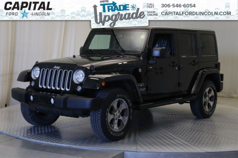 Pre-Owned 2016 Jeep Wrangler Unlimited Convertible