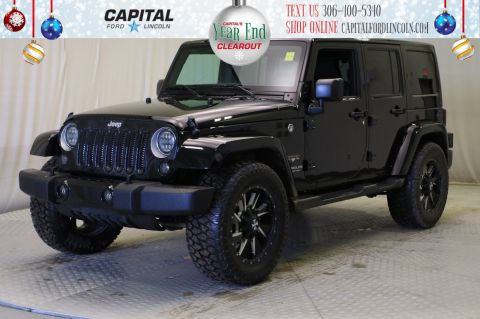 Pre-Owned 2017 Jeep Wrangler Unlimited Convertible **New Arrival**