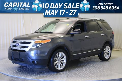 Pre-Owned 2015 Ford Explorer XLT 4WD | Leather | Sunroof |