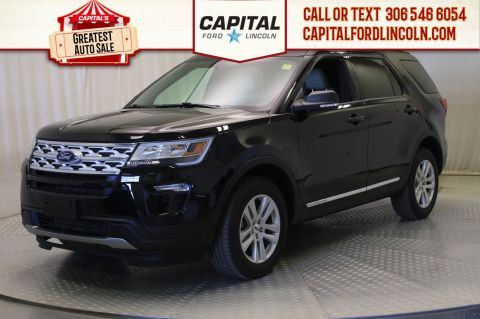 Pre-Owned 2019 Ford Explorer XLT 4WD | Leather | Sunroof |