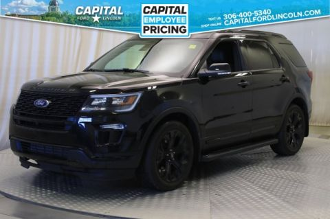 Pre-Owned 2019 Ford Explorer Sport 4WD