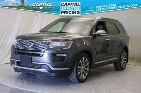 Pre-Owned 2018 Ford Explorer Platinum 4WD