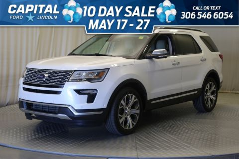 Pre-Owned 2019 Ford Explorer Platinum 4WD