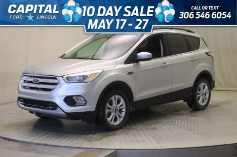 Pre-Owned 2018 Ford Escape SEL 4WD * Leather * Sunroof * Navigation *