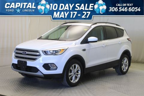 Pre-Owned 2018 Ford Escape SEL 4WD | Leather | Sunroof | Navigation |