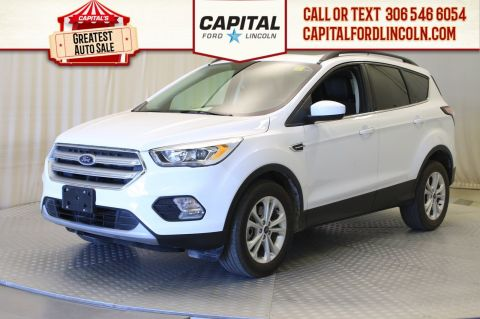 Pre-Owned 2018 Ford Escape SEL 4WD | Leather | Sunroof |