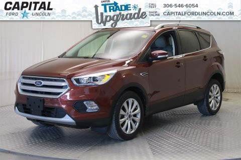 Pre-Owned 2018 Ford Escape Titanium * Leather * Sunroof *