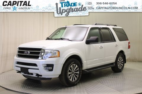 Pre-Owned 2017 Ford Expedition XLT 4WD * Leather * Sunroof *