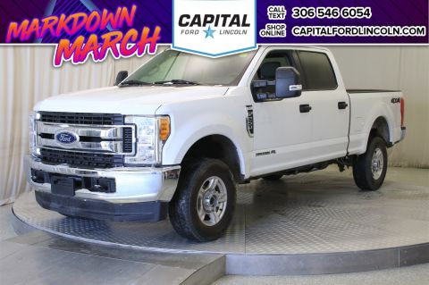 Pre-Owned 2017 Ford Super Duty F-250 SRW XLT Diesel SuperCrew