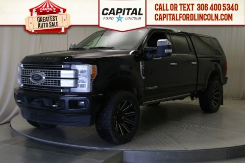 Pre-Owned 2018 Ford Super Duty F-350 SRW Platinum | Lifted | Leather | Sunroof |