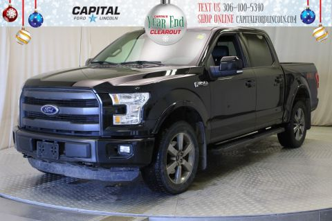 Pre-Owned 2015 Ford F-150 SuperCrew | Sunroof | 501A | 5.0L |