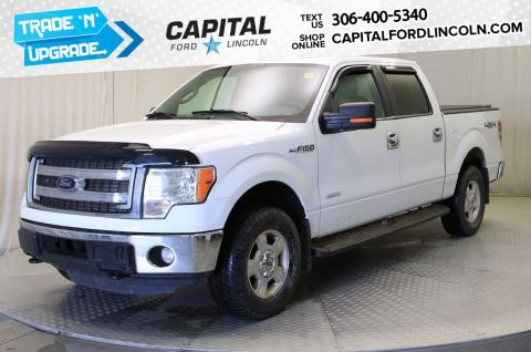 Pre-Owned 2014 Ford F-150 SuperCrew XLT | Local Trade | 3.5L Ecoboost |