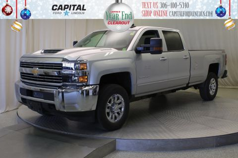 Pre-Owned 2018 Chevrolet Silverado 3500HD Crew Cab LT