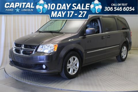Pre-Owned 2017 Dodge Grand Caravan Crew | Leather |