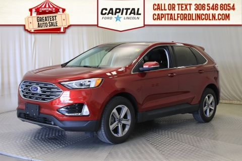 Pre-Owned 2019 Ford Edge SEL AWD | 0% Financing | Leather | Sunroof | Navigation |