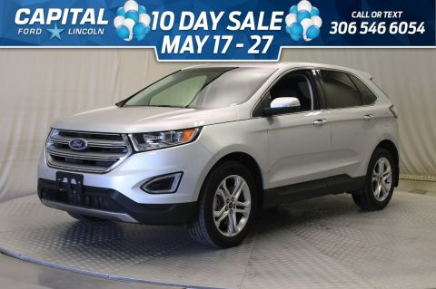 Pre-Owned 2018 Ford Edge Titanium AWD | Leather |