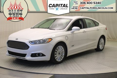 Certified Pre-Owned 2015 Ford Fusion Energi SE Luxury * Leather * Sunroof * 105 MPG! *