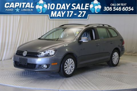 Pre-Owned 2014 Volkswagen Golf Wagon Trendline | Diesel |