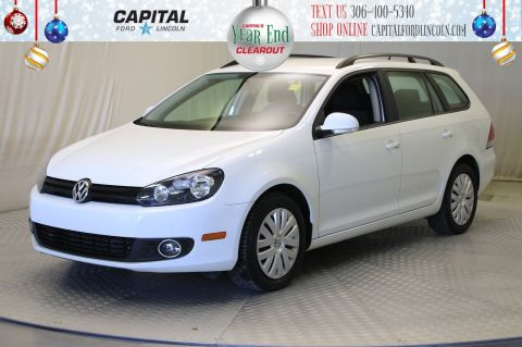Pre-Owned 2014 Volkswagen Golf Wagon Trendline | Diesel