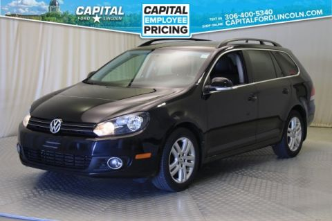 Pre-Owned 2011 Volkswagen Golf Wagon Highline | Diesel Leather | Sunroof |