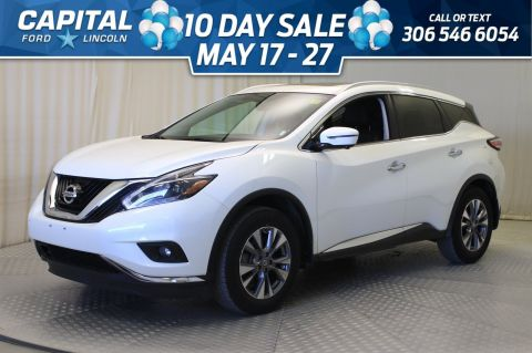 Pre-Owned 2018 Nissan Murano SL | Leather | Sunroof | Navigation |