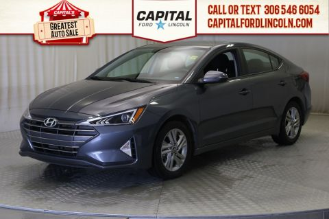 Pre-Owned 2019 Hyundai Elantra Luxury | Sunroof | Heated Steering |